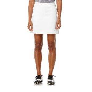 PGA Tour Solid Twill Skorts White
